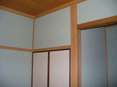 座敷でもおまかせ こだわりの テレビ壁掛け設置工事 02