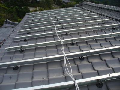 17 SANYO 太陽光ソーラー発電システム 5.04KW(瀬戸田町)
