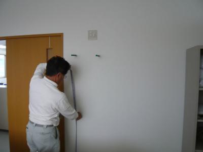 32インチ壁掛け設置工事 10