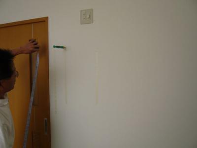 32インチ壁掛け設置工事 20