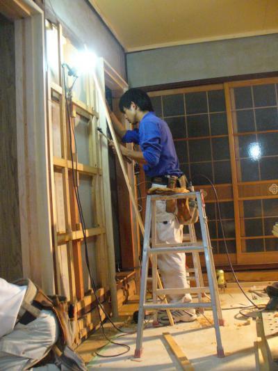 18 生口島 N様邸 リフォーム(タカラキッチン(L型)、クロス張替、床張替、天井張替、額縁塗装) べんりMAN 15