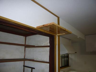 25 生口島 N様邸 リフォーム(タカラキッチン(L型)、クロス張替、床張替、天井張替、額縁塗装) べんりMAN 15