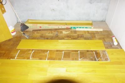 63 生口島 N様邸 リフォーム(タカラキッチン(L型)、クロス張替、床張替、天井張替、額縁塗装) べんりMAN 15