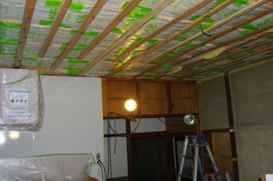 70 生口島 N様邸 リフォーム(タカラキッチン(L型)、クロス張替、床張替、天井張替、額縁塗装) べんりMAN 15