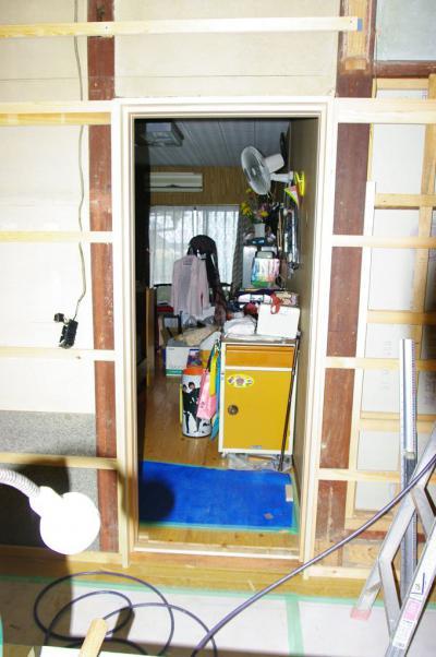 76 生口島 N様邸 リフォーム(タカラキッチン(L型)、クロス張替、床張替、天井張替、額縁塗装) べんりMAN 15