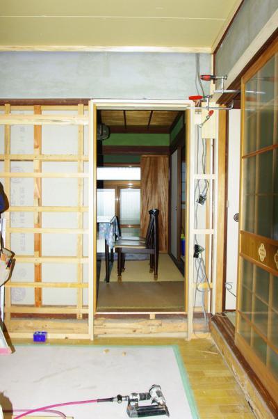 75 生口島 N様邸 リフォーム(タカラキッチン(L型)、クロス張替、床張替、天井張替、額縁塗装) べんりMAN 15