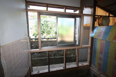 012 生口島 K様邸 ユニットバスリフォーム(五右衛門風呂→1618 ユニットバス) べんりMAN 15