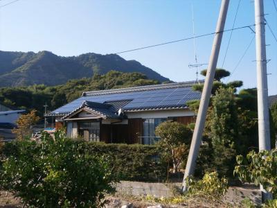 039生口島 T様邸 京セラ太陽光発電(5.95KW)設置工事 正義の味方 べんりMAN 15