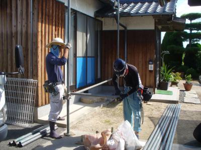 008 生口島 T様邸 京セラ太陽光発電(5.95KW)設置工事 正義の味方 べんりMAN 15