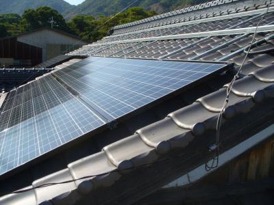 022 生口島 T様邸 京セラ太陽光発電(5.95KW)設置工事 正義の味方 べんりMAN 15