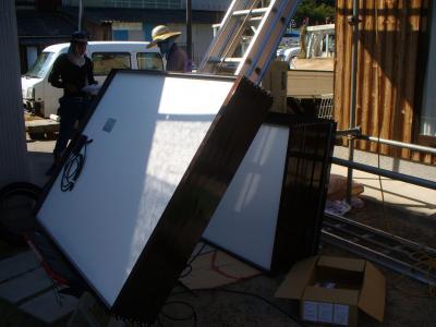 021 生口島 T様邸 京セラ太陽光発電(5.95KW)設置工事 正義の味方 べんりMAN 15