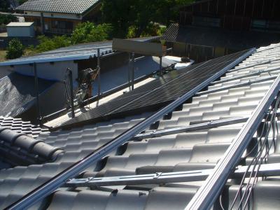 027 生口島 T様邸 京セラ太陽光発電(5.95KW)設置工事 正義の味方 べんりMAN 15