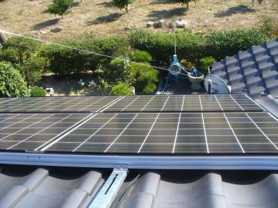 026 生口島 T様邸 京セラ太陽光発電(5.95KW)設置工事 正義の味方 べんりMAN 15