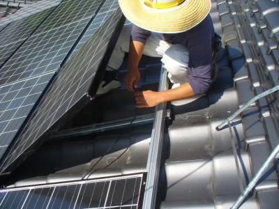 036 生口島 T様邸 京セラ太陽光発電(5.95KW)設置工事 正義の味方 べんりMAN 15