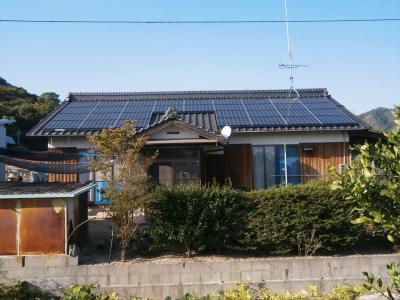 033 生口島 T様邸 京セラ太陽光発電(5.95KW)設置工事 正義の味方 べんりMAN 15