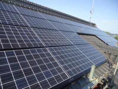 032 生口島 T様邸 京セラ太陽光発電(5.95KW)設置工事 正義の味方 べんりMAN 15