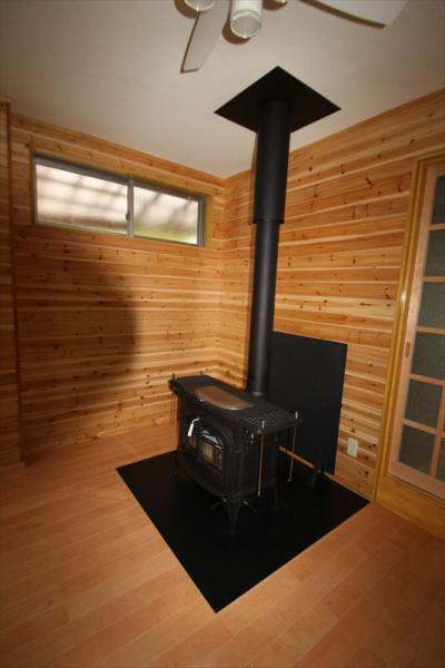 154 生口島 T様邸 自然の天然杉をふんだんに使った薪暖炉ストーブ アンコール付 トイレ TOTO 最高級 レストパル 全面改装リフォーム工事  正義の味方 べんりMAN 15