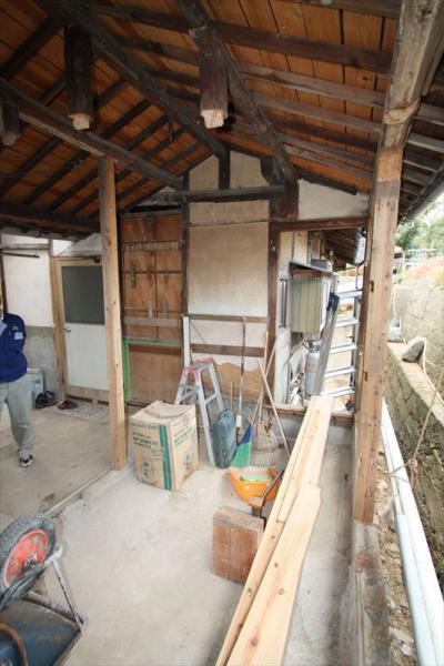 008 生口島 I様邸 ユニットバス松コース タカラスタンダード伸びの美容室(1617)、脱衣場増築リフォーム、複層ガラスサッシ工事  正義の味方 べんりMAN 15