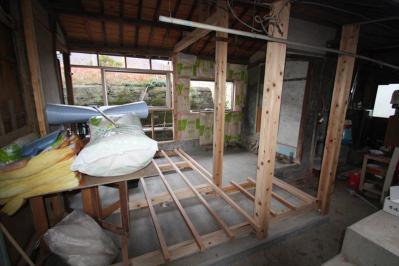 021 生口島 I様邸 ユニットバス松コース タカラスタンダード伸びの美容室(1617)、脱衣場増築リフォーム、複層ガラスサッシ工事  正義の味方 べんりMAN 15