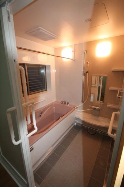 046 生口島 I様邸 ユニットバス松コース タカラスタンダード伸びの美容室(1617)、脱衣場増築リフォーム、複層ガラスサッシ工事  正義の味方 べんりMAN 15