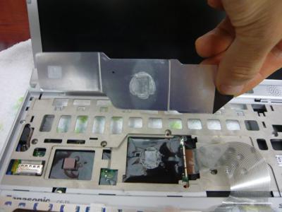 Panasonic T5 SSD 換装 20