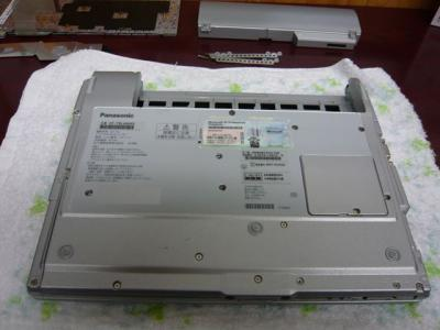 Panasonic T5 SSD 換装 24