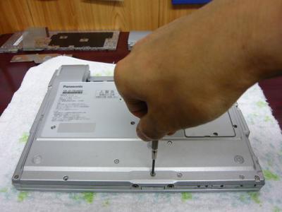 Panasonic T5 SSD 換装 25