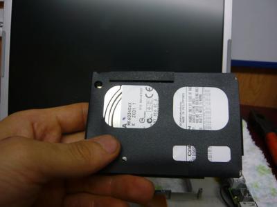 Panasonic T5 SSD 換装 41