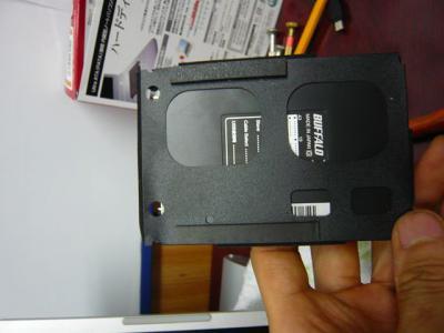 Panasonic T5 SSD 換装 43