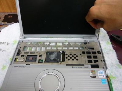 Panasonic T5 SSD 換装 48