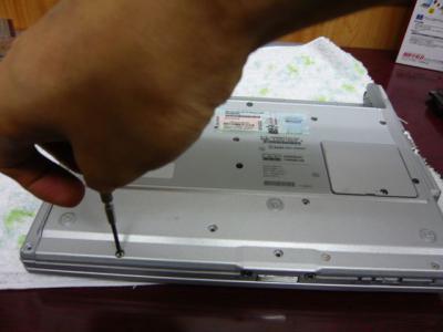 Panasonic T5 SSD 換装 52