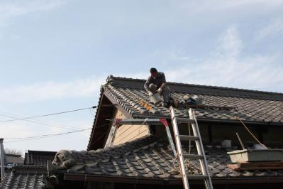 009 生口島 U様邸 (泥葺き瓦 補修工事) べんりMAN 15