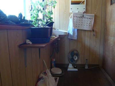 瀬戸田町 A様邸 介護保険手すり設置工事 トイレ入り口 前