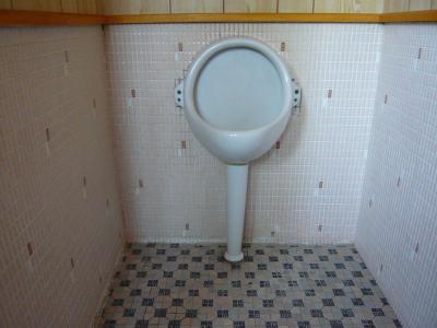 瀬戸田町 A様邸 介護保険手すり設置工事 トイレ 中 前
