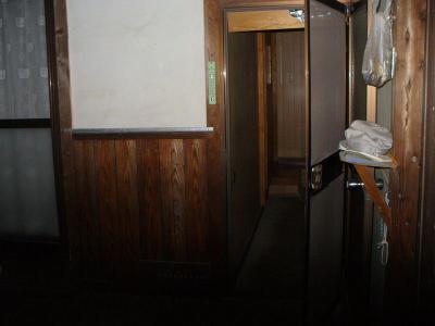 瀬戸田町 A様邸 介護保険手すり設置工事 玄関 前