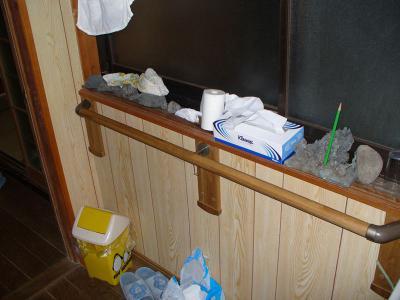 瀬戸田町 A様邸 介護保険手すり設置工事 トイレ入り口 後