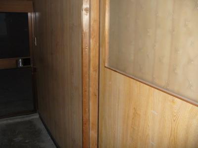 瀬戸田町 A様邸 介護保険手すり設置工事 玄関中 前