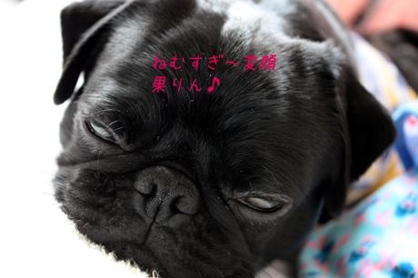 眠すぎて・・・変顔@@