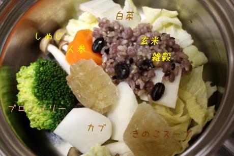 今日のトッピング野菜