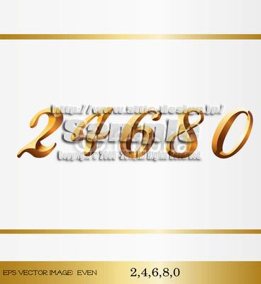 数字LOGO24680