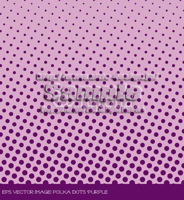 背景素材 水玉模様紫