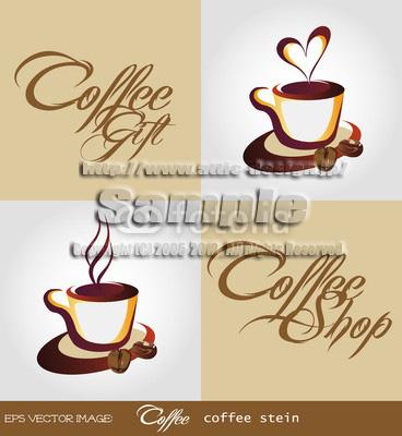 ロゴ コーヒーカップ