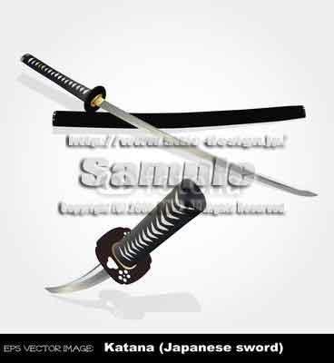 イラスト 日本刀