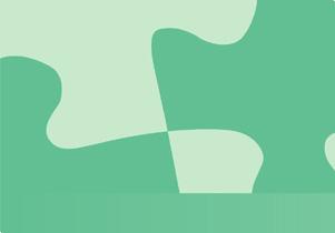 背景素材 パズルグリーン