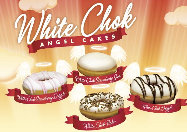 クリスビークリーム・ホワイト