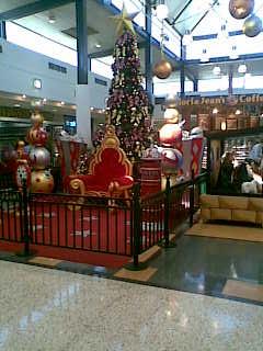 サンタの椅子
