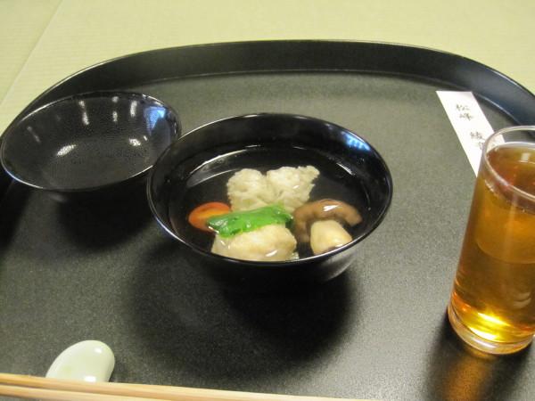「田鶴」の会席料理