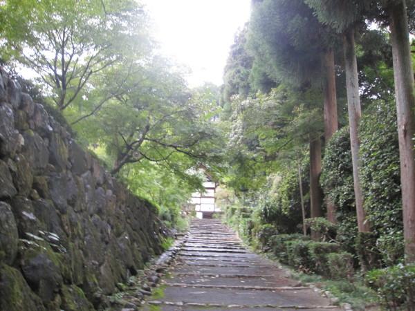 正伝寺への参道
