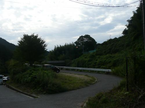 青崩(あおげ)登山口①