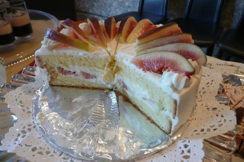 イチジクのショトケーキ